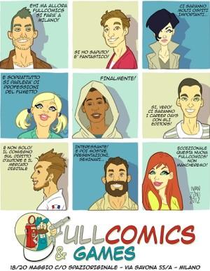 Fullcomics & Games: tre giorni di ospiti e iniziative per parlare di professioni nel fumetto
