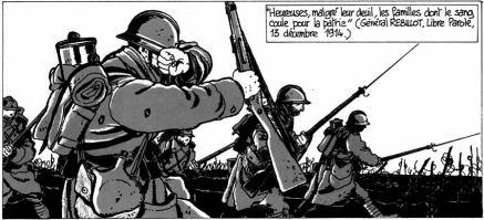 """""""Era la guerra delle trincee"""": Tardi contro la guerra"""