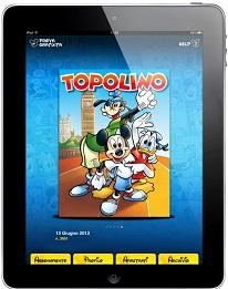 Topolino sbarca su App Store: un'app interattiva per il settimanale Disney