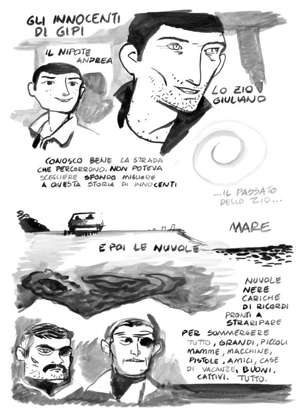 Giovanni Ballati: Gipi, non smettere di fare fumetti!