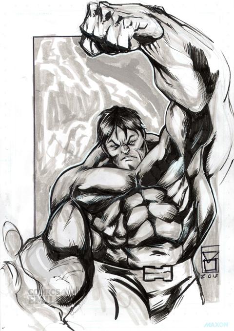 Salvo Muscarà - Hulk