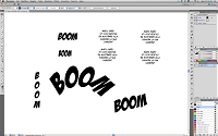 Guida al lettering digitale di fumetti con illustrator by Mantis Studio