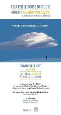 """Un asta per le borse di studio """"Giovanni Mulazzani"""" alla galleria l'Affiche di Milano"""