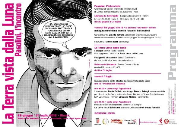 Davide Toffolo e il suo Pasolini in mostra a Rimini