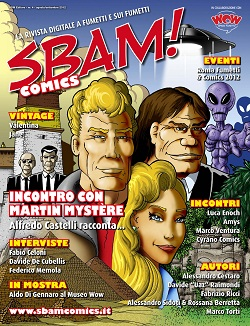 E' disponibile il quarto numero della rivista digitale SBAM! Comics