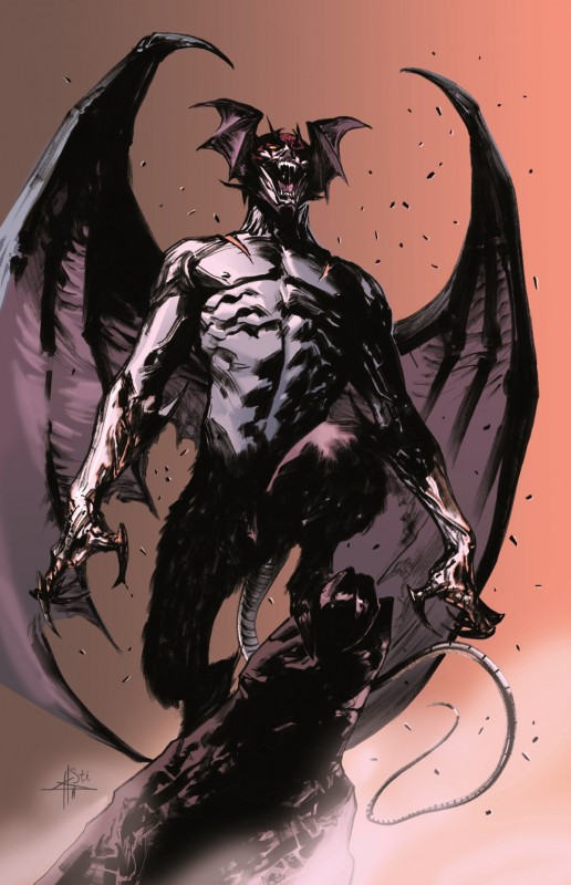 Gabriele Dell'Otto e Stefano Simeone: il grido di Devilman