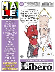 Satira e cultura nei numeri estivi di Frigidaire e Il nuovo Male