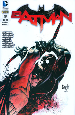 Batman #3 (Snyder, Capullo, Daniel, Higgins, Barrows)