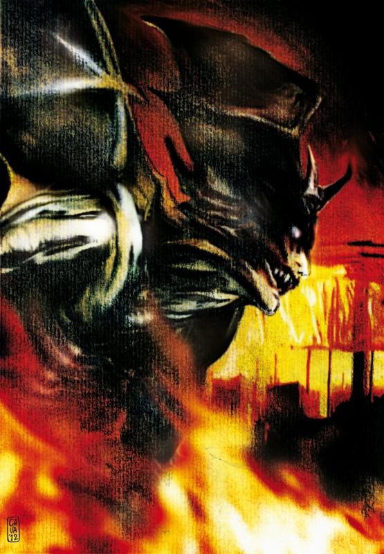 Andrea Cavaletto: omaggio a Devilman