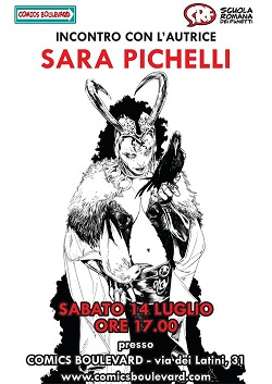 Da Comics Boulevard, Roma, arriva Sara Pichelli