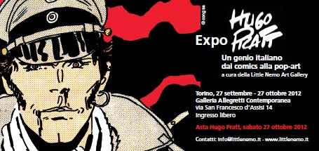 """Mostra """"Hugo Pratt, un genio italiano dai comics alla Pop art"""""""