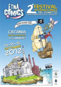 Cristina D'Avena, Paolo Cossi e David Lloyd ad Etna Comics 2012