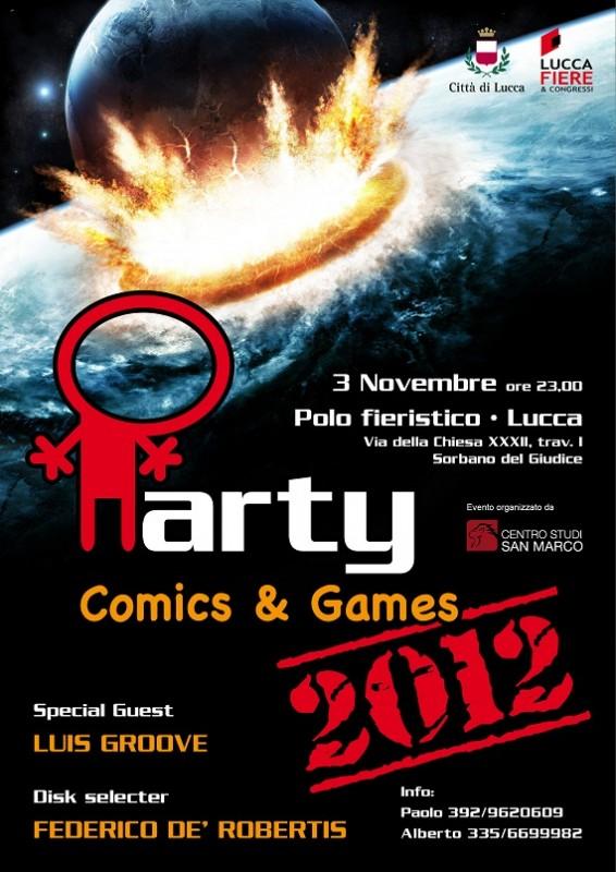 Grande festa per la manifestazione Lucca Comics and Games