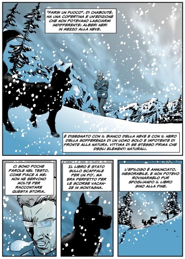 A fumetti: Alessandro Fusari su Farsi un fuoco di Chabouté