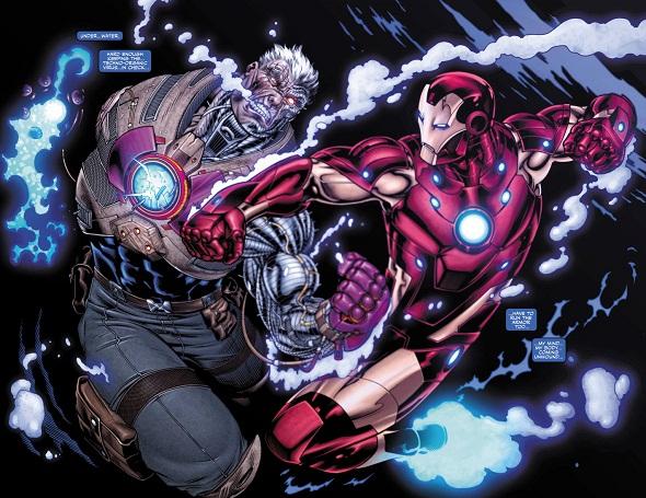 Avengers: X-Sanction #1 (Loeb, McGuinnes) - iron_man_cable_x-sanction12