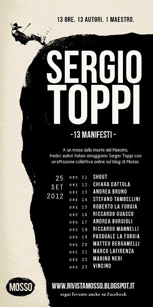 Il free online magazine MOSSO omaggia il maestro Sergio Toppi