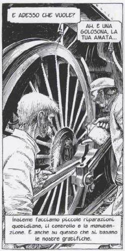 L'Amata di Schuiten, archetipo del lavoro, riflessione sul progresso
