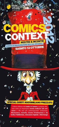 Massimiliano Frezzato al Comics in Context 2012