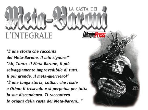 """La Magic Press presenta l'edizione integrale de """"La Casta Dei Meta-Baroni"""""""