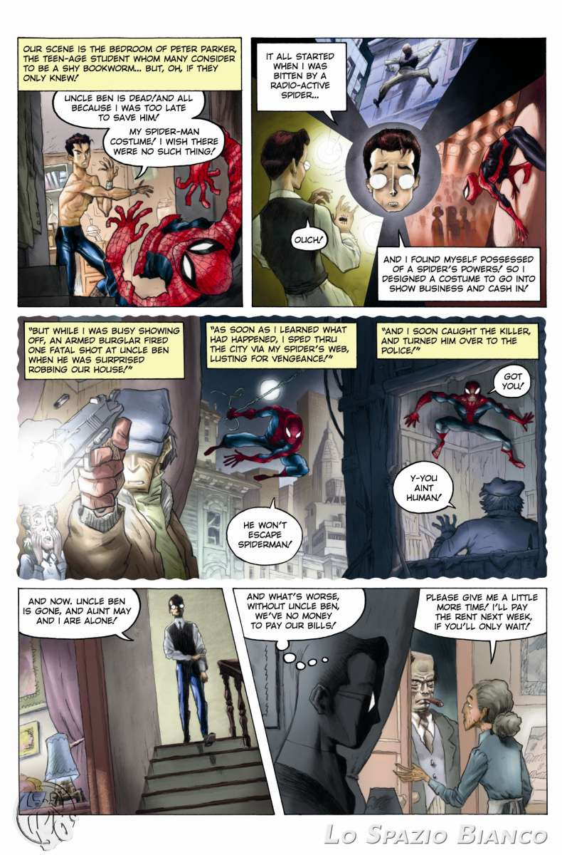 Amazing Spider-Man n.1 Pag.2 (Gianmaria Liani)_Omaggi