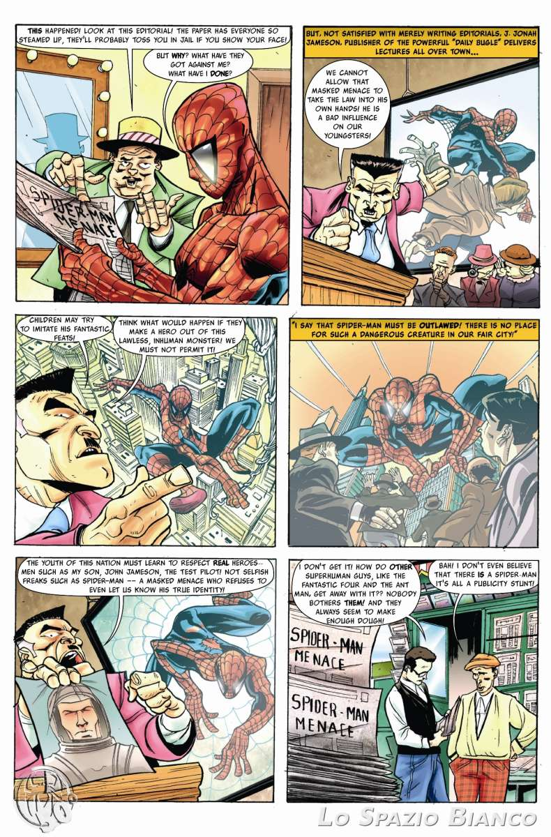 Amazing Spider-Man n.1 Pag.5 (Lelio Bonaccorso)