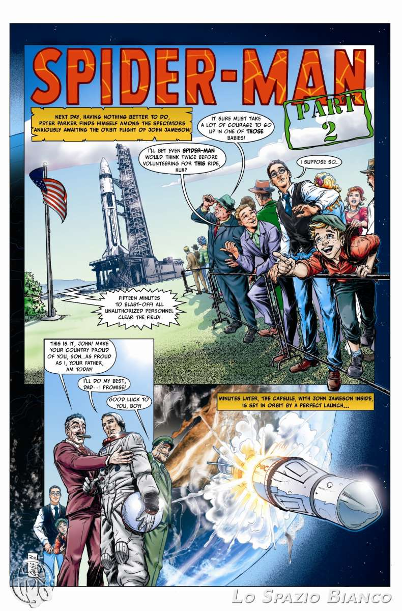 Amazing Spider-Man n.1 Pag. 7 (Silvia Califano)_Omaggi