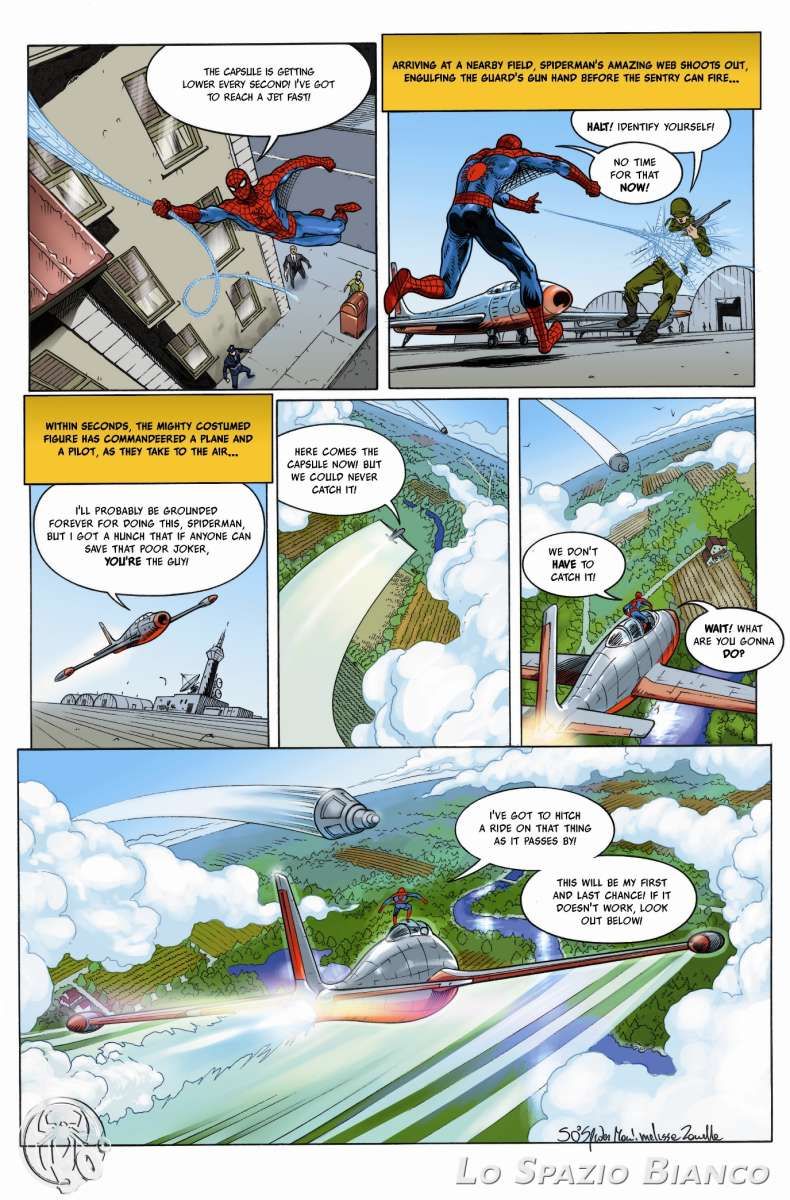 Amazing Spider-Man n.1 Pag. 10 (Melissa Zanella)