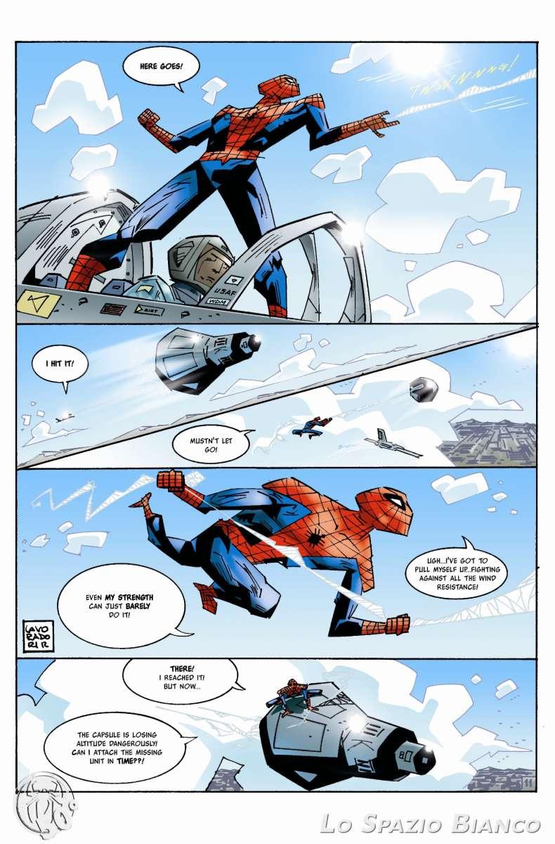 Amazing Spider-Man n.1 Pag.11 (Alberto Lavoradori)_Omaggi