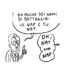 Napolitano secondo Natangelo: tra Pert e Nap, c'è di mezzo il Nat