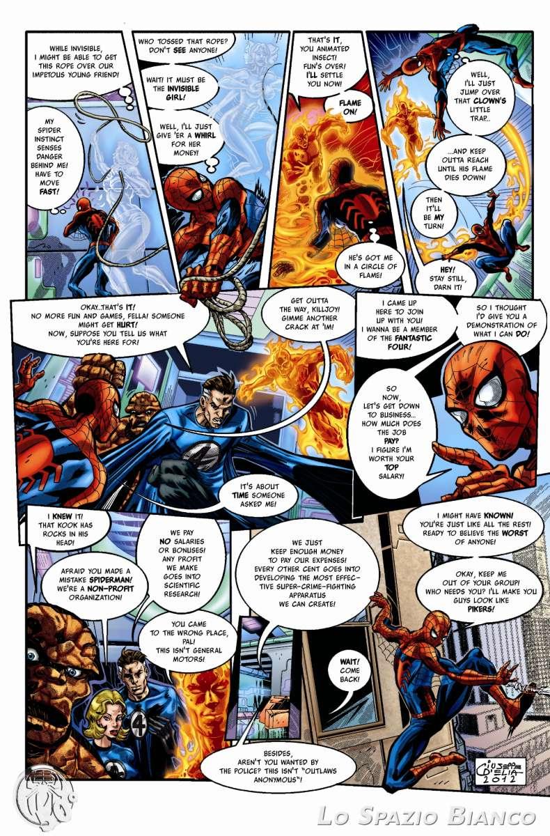 Amazing Spider-Man n.1 Pag. 18 (Giuseppe D'Elia)