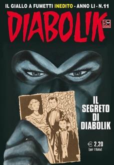 Diabolik 11 - Il segreto di Diabolik (Gomboli, Faraci, Barison, Brindisi)
