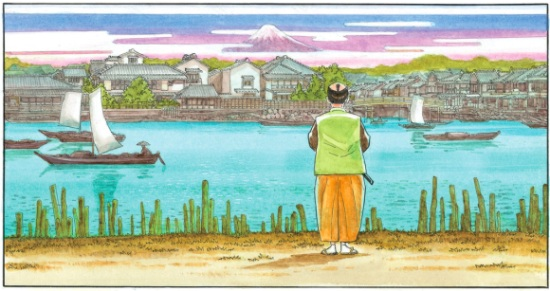 Furari - una passeggiata nell'epoca Edo insieme a Jiro Taniguchi