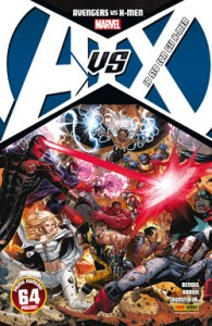 Avengers vs X-Men #1 (Bendis, Aaron, Romita Jr.)