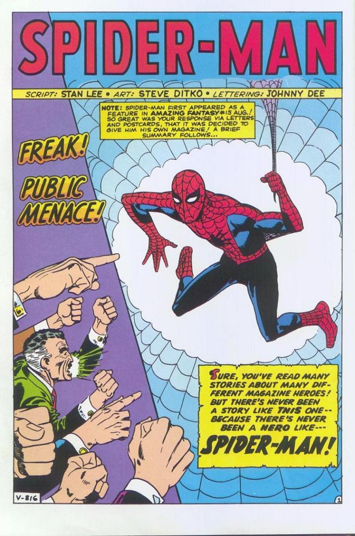 Amazing Spider-Man n.1 Pag. 1 (Lorenzo Ruggiero)