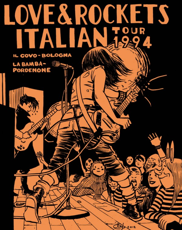 Davide Toffolo e Love and Rockets: le vidi suonare   Love and Rockets Davide Toffolo