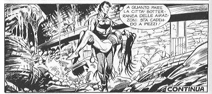 Zagor #568 – Le donne guerriere (Burattini, Laurenti)