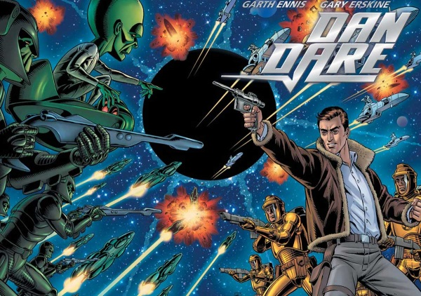 "Dan Dare di Garth Ennis: sci-fi vintage a colpi di ""Dio salvi la Regina"""