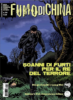 E' disponibile Fumo di China 210 in edicola e fumetteria