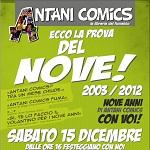 Il 15 dicembre Antani Comics festeggia 9 anni con Stefano Casini e Stefano Simeone