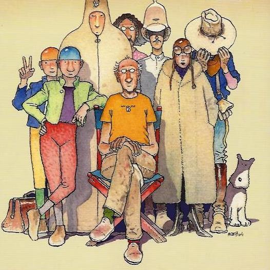 Inside Moebius: a passeggio nella mente dell'artista