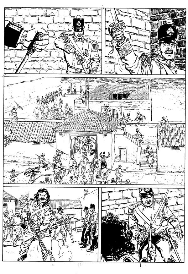 """Le Storie: intervista a Bruno Brindisi, ai disegni de """"La rivolta dei Sepoy"""""""