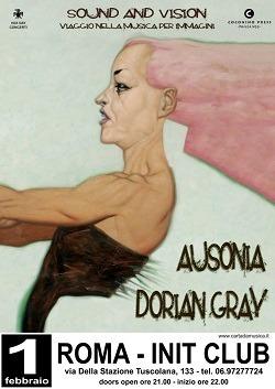 Il rock incontra il fumetto: Dorian Gray in concerto con i disegni live di Ausonia