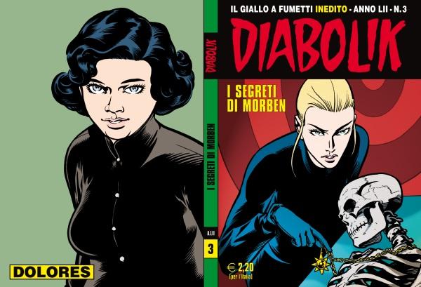 Giuseppe Palumbo esordisce sulla serie regolare di Diabolik
