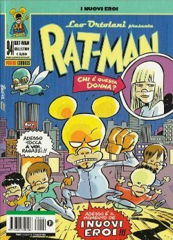 Rat-Man #94 - I Nuovi Eroi (Ortolani)