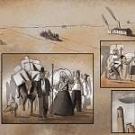 """Tunué svela gli autori del graphic novel """"Canale Mussolini"""", dal romanzo di Antonio Pennacchi"""