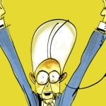 The full Monti: Makkox muove le maschere della sit-com Italia