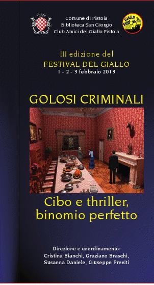 Appuntamenti fumettistici alla terza edizione del Festival del Giallo a Pistoia