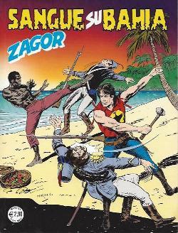 Zagor #570 – Sangue su Bahia (Burattini, Laurenti, Mignacco, Dalla Monica) - zagor570