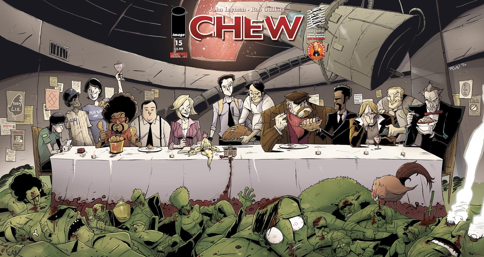 Chew di John Layman e Rob Guillory: il lettore va preso per la gola