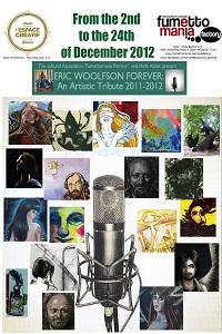 "Mostra per i vincitori del contest ""Eric Woolfson Forever"""
